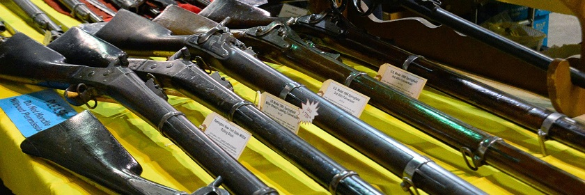 The Syracuse Gun Show and Sale April 21-22 at NYS Fairgrounds