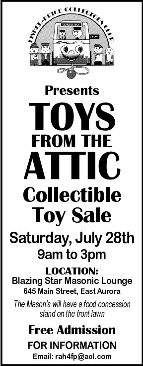 Fisher-Price Collectors Club Show on June 28th